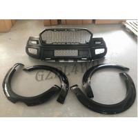 China PP Material Front Bumper And Fender Flare Front Bumper Kits For Ford Ranger T7 2015+ on sale