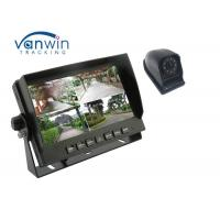 China 4CH 720P Car DVR With Hard Disk Storage , 4 AHD Cameras Recording For Truck wholesale