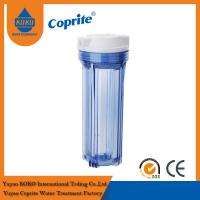 China Clear Pp Double O Ring Water Filter Housing 10 Inch RO Filter Housing wholesale