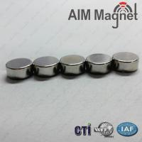 China magnet disc 5 x 2 mm wholesale