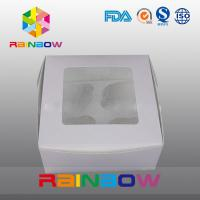 China Cardboard Paper Box Packaging With Clear PVC Window For Toys / Gifts wholesale