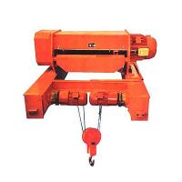 China Double Girder Rail Construction Small Electric Wire Rope Hoists With Electric Traveling Trolley on sale