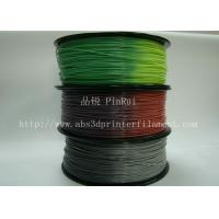 Quality ABS PLA 3d printer filament color changed with temperature for Cubify and UP for sale