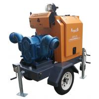 Agiculture trailer diesel irrigation water pump with for Diesel irrigation motors for sale
