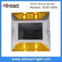 Buy cheap 4 LED Solar Road Studs ASD-006 Solar Reflecting Marker for Traffic Warning Solar from wholesalers
