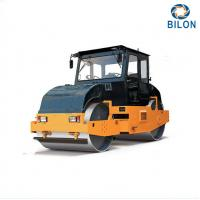 China 8T 10T Static Tandem Road Rollers With Double Drum Slot Grind Wheel Type wholesale