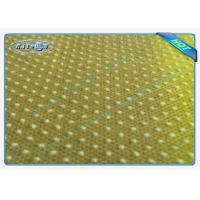 China Mattress Bottom Use Grey Pp Non Woven Anti Slip Fabric With Pvc Dot wholesale
