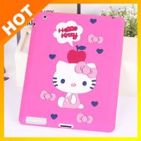 China ODM Durable Ipad Silicone Skin Case For Ipad 2 / 3 / 4 / 5 Pink Cover on sale