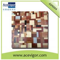 China Eco-friendly antique solid wood wall tiles for background decoration wholesale