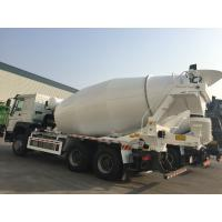 Buy cheap HOWO cement mixer truck  10 wheels Euro 2  10m3 400L Fuel tank from wholesalers
