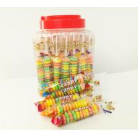 China Colorful and Sweet Multi Fruit Flavor Roll Healthy Hard Compress Candy in Jars wholesale