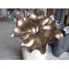 Buy cheap Custom Copper Lotus Sculpture Lotus Flower Metal Sculpture from wholesalers