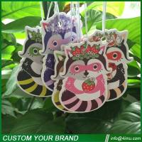 China Thailand hot sell customized design hanging paper air freshener wholesale