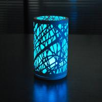 China Charming unique D95*H165cm size Glass and iron LED Table lamp at night. wholesale