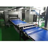 China Lower Configuration Dough Laminator Machine For Frozen Pastry Dough Block wholesale