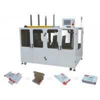 China Automatic Carton Box Forming Machine, Automatic Folding Carton Box to Designed Form on sale