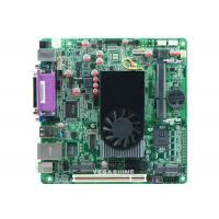 China 8USB 2.0 ,  2 Com ATOM D525 Mini-Itx industrial computer Motherboard Support Wifi / 3g wholesale