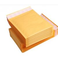 China Customized Printed Kraft Bubble Mailer 110*190 With Water Resistance wholesale