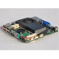 China Dual Gigabit LAN Industrial nano Motherboard , Intel Celeron Processor 1037U wholesale
