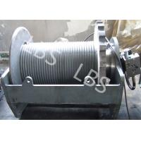 China Two Speed Hydraulic Crane Winch Electrical Mooring Winch Long Life wholesale