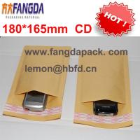 China 180'*165mm Customized kraft  paper air Bubble mailer padded envelope #CD wholesale