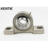 China Industry Blender Small Stainless Steel Pillow Block / Mounted Ball Bearings SUCP206 on sale