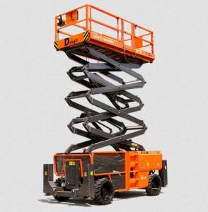 China Electric Vertical Electric Mobile Scissor Lift / Scaffolding Aerial Lift Work Platform wholesale