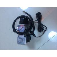 China Most Popular Single Small Air Compressor With Light For All Cars Sliver And Red wholesale