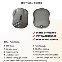 China Magnetic GPS Tracker Portable 95 Days Long Standby Time 5000MAH Rechargeable Battery on sale