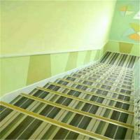 China Waterproof Woven Vinyl Flooring , Fire Proof Woven Pvc Flooring For Stairs wholesale