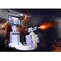 Buy cheap Gatling design vr arcade game machine 9d vr shooting simulator for vr park from wholesalers