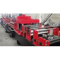 Quality Dual Holes Punching C Purlin Roll Forming Machine Hydraulic 14 MPa Work Pressure for sale