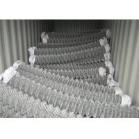 China 3.0mm Wire Pvc Coated Chain Link Fencing Sports Ground Protection wholesale