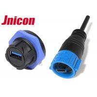 China IP67 Waterproof USB Connector , Watertight USB Connector Power And Data Charging wholesale