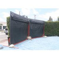 China Temporary Noise Barriers 4 layer waterproof, Fireproof, Weather Resistant Noise Barriers Blanket wholesale