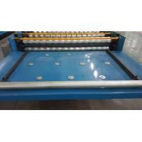 China Automated Roofing Sheet Corrugated Roll Forming Machine / Glazed Roof Panel Making Machines wholesale
