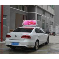 China P6.67 outdoor taxi roof led display Brightness 1800mcd 3G WIFI RGB die cast auminum wholesale