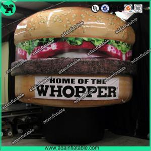China Mcdonald's Hamburger Advertising Inflatable Hamburger Model wholesale