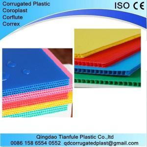 China Polypropylene PP Corrugated Board on sale