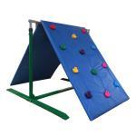 China Customized Color Kids Backyard Climbing Wall , Plastic Childrens Rock Climbing Wall wholesale
