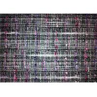 China Woven Technics Tweed Material Fabric , Different Color Wool Blend Fabric 340g/M wholesale
