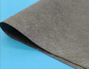 China adhesive RF shielding Nickel copper non-woven conductive fabric wholesale
