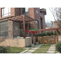 China Landscape Design Waterproof Corner Pergola Kits , High Density Outdoor Pergola Kits wholesale