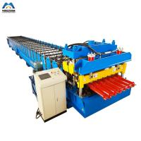 China Color Steel Metal Glazed Tile Tile Roll Forming Machine For Outdoor Decorate wholesale