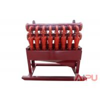 China 1000HP~4500HP oil rig  solids control hydrocyclone desilter at Aipu solids wholesale