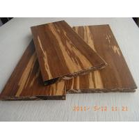 China Tigerwood Strand Woven Bamboo Flooring, T&G wholesale