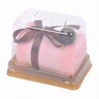 China Tower Gift-packed/Cake Tower Promotional Towel wholesale
