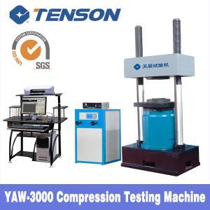China YAW 300KN Computerized Electro-hydraulic  Compression Testing Machine wholesale