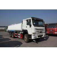 China Sinotruk LHD 6x4 Water Tanker Truck15 - 25cbm Capacity For City Landscaping wholesale
