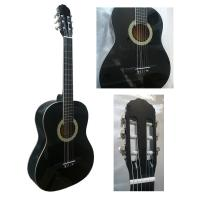 China White ABS Binding Wood Classical Guitar Basswood Junior For Beginners CG3910AW wholesale
